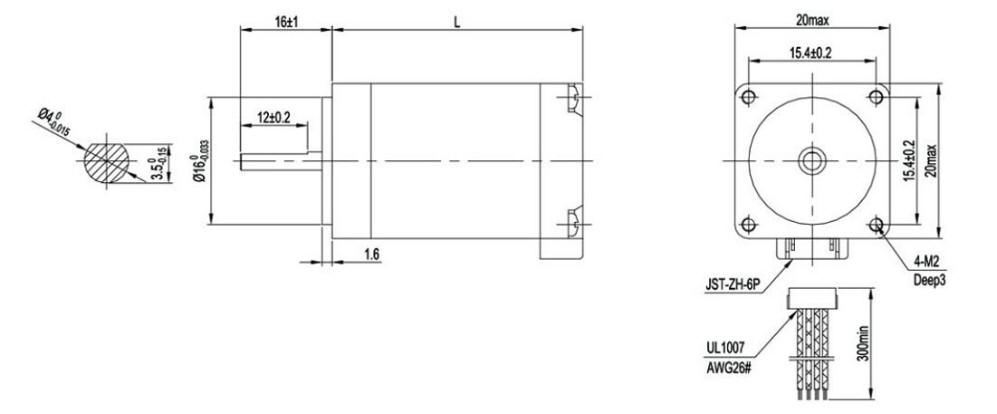 NEMA-8-1.8°-20mm-GM20BYG-Stepper-Motor-drawing