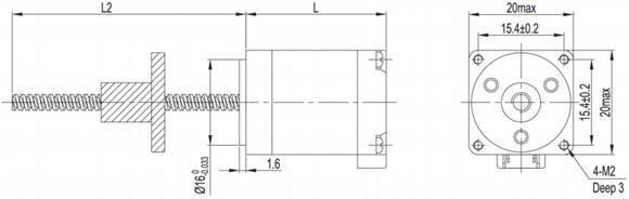 nema 8 linear stepper motor