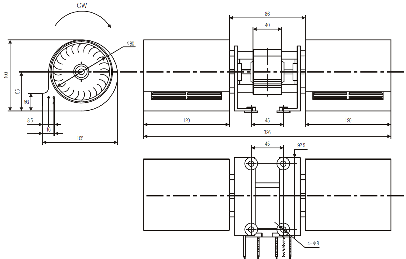 Cross Flow Fan And Tangential Blower Manufacturer